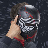 Star Wars: The Rise of Skywalker Supreme Leader Kylo Ren Force Rage Electronic Mask for Kids Role-Play & Costume Dress Up, Brown - Garrison City Toy Work's