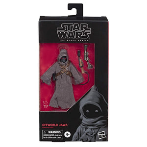"Star Wars The Black Series Offworld Jawa Toy 6"" Scale The Mandalorian Collectible Action Figure, Toys for Kids Ages 4 & Up - Garrison City Toy Work's"
