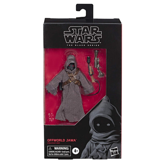 Star Wars The Black Series Offworld Jawa Toy 6