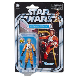 "Star Wars The Vintage Collection A New Hope Luke Skywalker Toy, 3.75"" Scale Action Figure, Toys for Kids Ages 4 & Up - Garrison City Toy Work's"