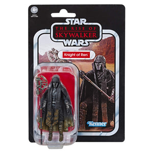 "Star Wars The Vintage Collection The Rise of Skywalker Knight of Ren (Long Axe) Toy, 3.75"" Scale Figure, Kids Ages 4 & Up - Garrison City Toy Work's"