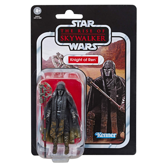 Star Wars The Vintage Collection The Rise of Skywalker Knight of Ren (Long Axe) Toy, 3.75