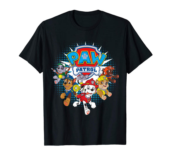 Paw Patrol Team Nickelodeon T-Shirt - Garrison City Toy Work's