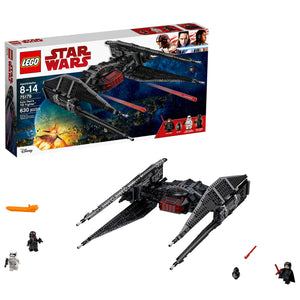 LEGO Star Wars Episode VIII Kylo Ren's Tie Fighter 75179 Building Kit, TIE Silencer Model and Popular Gift for Kids (630 Pieces) - Garrison City Toy Work's