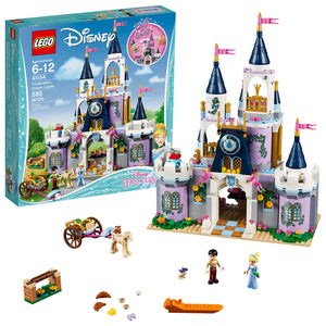 LEGO Disney Princess Cinderella's Dream Castle 41154 Popular Construction Toy for Kids (585 Pieces) - Garrison City Toy Work's