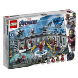 LEGO Marvel Avengers Iron Man Hall of Armor 76125 Building Kit (524 Piece) - Garrison City Toy Work's