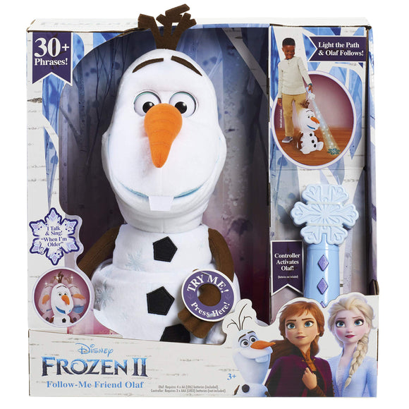 Frozen Disney 2 Follow-Me Friend Olaf - Garrison City Toy Work's