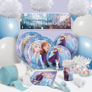 Disney Frozen 2 - ULTIMATE PARTY PACK FOR 8 - Garrison City Toy Work's