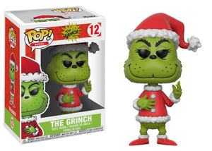 Funko Pop Books Santa Grinch Collectible Vinyl Figure - Garrison City Toy Work's