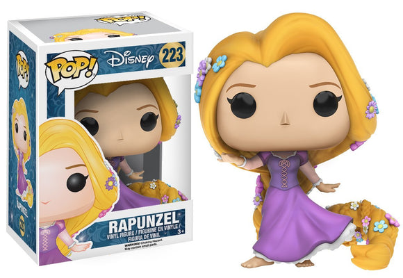 Funko POP Disney: Tangled - Rapunzel Action Figure - Garrison City Toy Work's