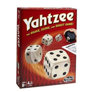 Hasbro Yahtzee Classic Game, Dice Games - Garrison City Toy Work's