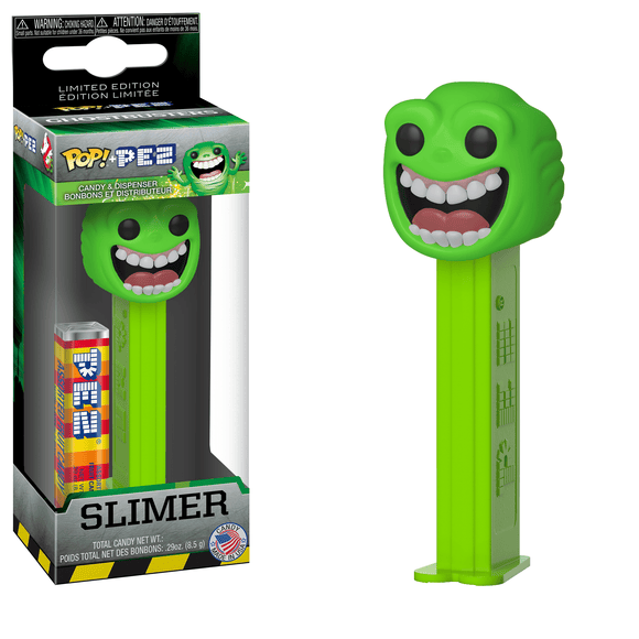 Funko Pop! PEZ: Ghostbusters - Slimer - Garrison City Toy Work's