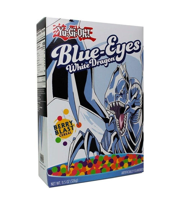 Blue Eyes White Dragon Yu-Gi-Oh Cereal - Garrison City Toy Work's