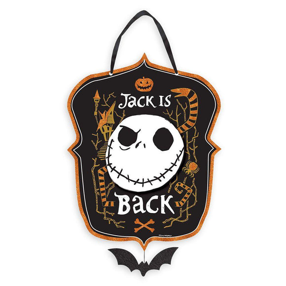 Jack Skellington Sign – The Nightmare Before Christmas - Garrison City Toy Work's