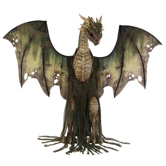 ANIMATED WINTER FOREST DRAGON - Garrison City Toy Work's