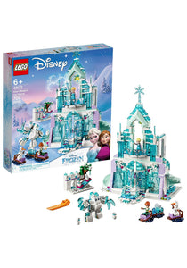 LEGO DISNEY PRINCESS ELSA'S MAGICAL ICE PALACE BUILDING SET - Garrison City Toy Work's
