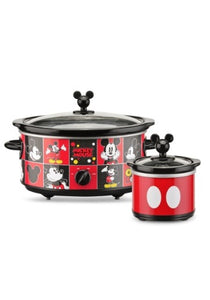 MICKEY MOUSE DISNEY 5 QT SLOW COOKER W/ DIPPER - Garrison City Toy Work's