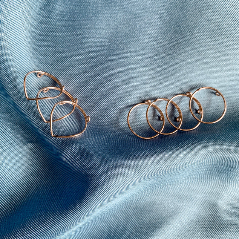 Bohemian Knuckle Rings Set