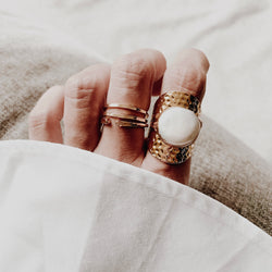 Kali Pearl Ring - Kaimana Jewelry