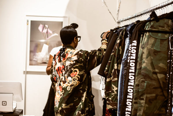 Recap: Fashion Bomb Daily Shop's NYC Pop Up Shop Hosted by Claire Sulmers and Yandy Smith