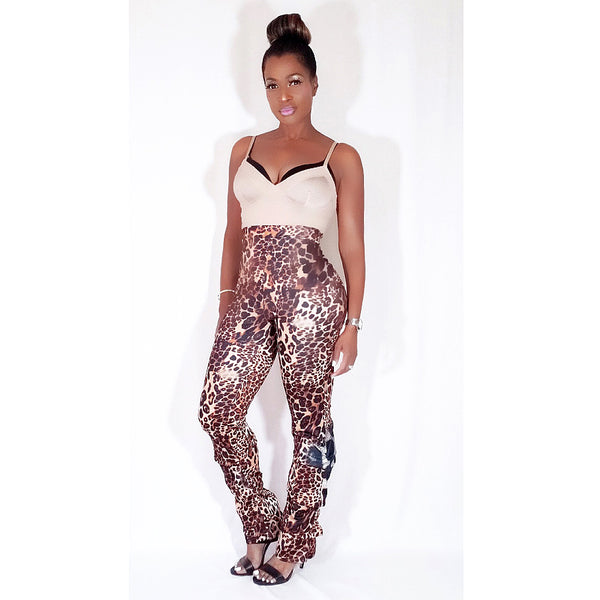 """WILD THANG""  LEOPARD PANTS"