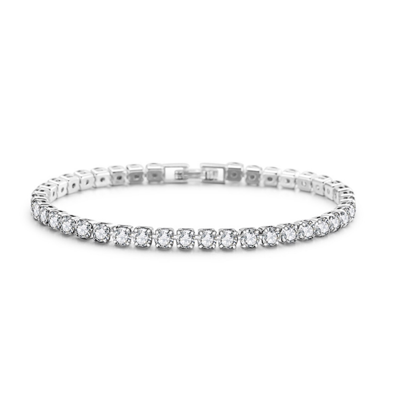 DIAMOND CZ TENNIS BRACELET