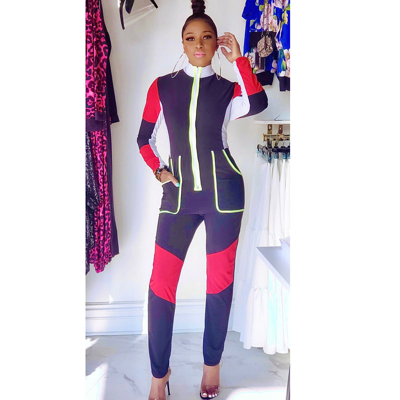 TRACK CATSUIT