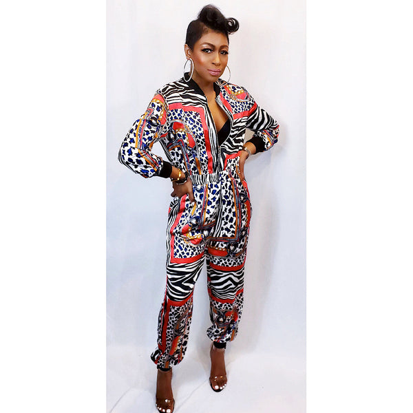 SAFARI CHIC | JUMPSUIT (Size S - L)