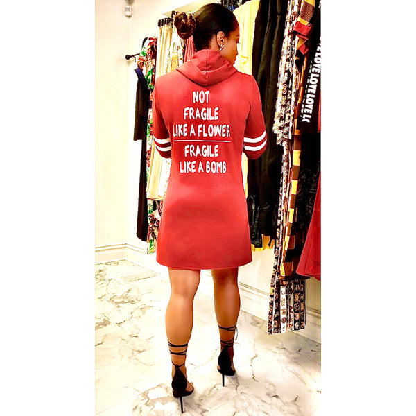 TEAM PLAYER | HOODIE DRESS (Size S - XL)