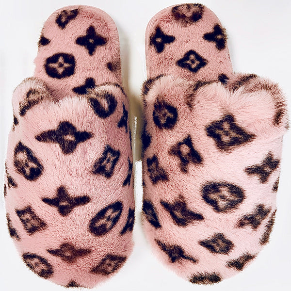 LUXE LOGO | SLIPPERS