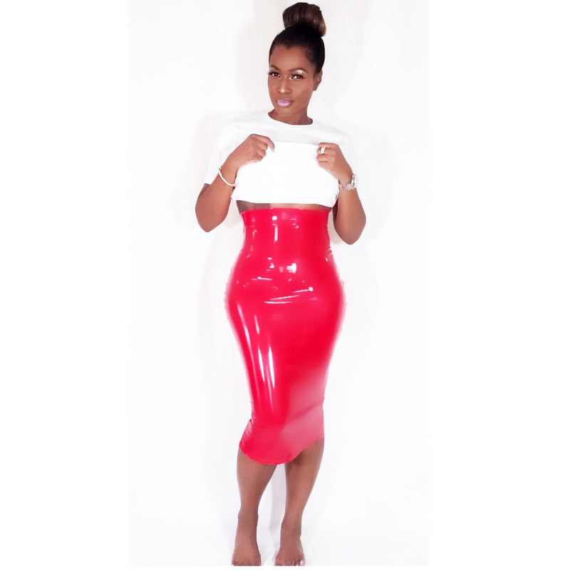 DOMINATE IN LATEX | SKIRT