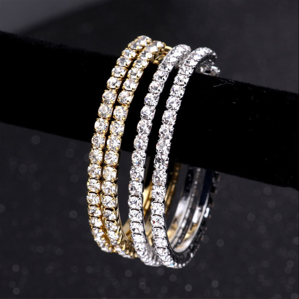 DIAMOND HOOP | EARRINGS