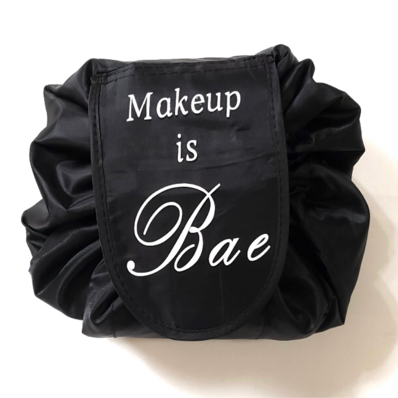 """MAKEUP IS BAE"" COSMETIC POUCH"