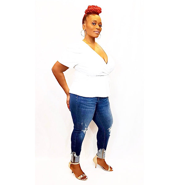 """THE LIZZO"" SKINNY JEANS (PLUS SIZE)"