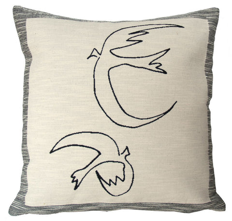 Hirondelles - Picasso Cushion Cover - SALE