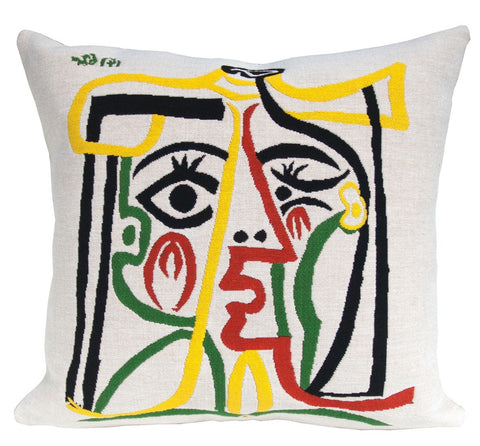 Head of a Woman - Picasso Cushion Cover - 60 x 60cm