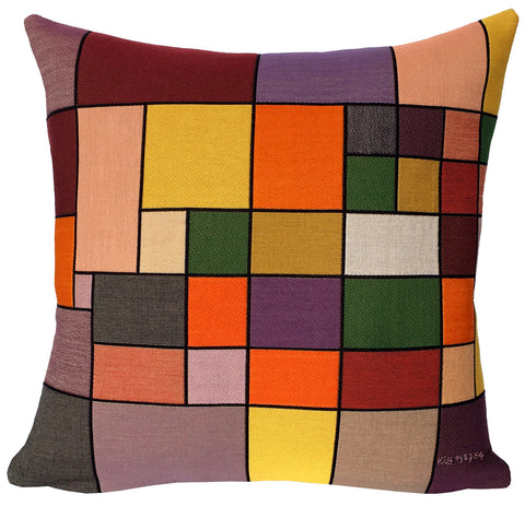 Paul Klee Harmonie de la flore nordique 1927 Cushion Cover SALE