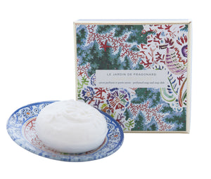 Fragonard - Jasmine and Perle Soap and Dish