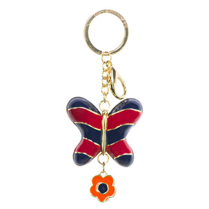 Campo Marzio Butterfly Keyring