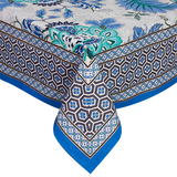 Blue Floral Table cloth