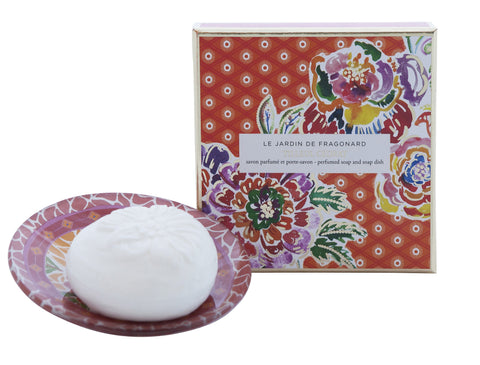 Fragonard - Tilleul and Cedrat Soap and Dish