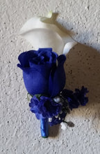 Load image into Gallery viewer, Royal Blue Rose Calla Lily