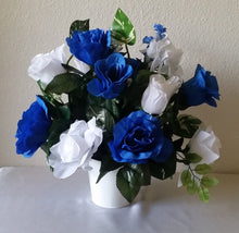 Load image into Gallery viewer, Horizon Royal Blue White Rose Hydrangea