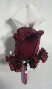 Burgundy Calla Lily Rose
