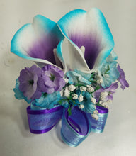 Load image into Gallery viewer, Teal Purple Calla Lily