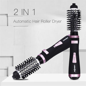 ONE-STEP 2 in 1 Ceramic Rotating Curling Iron Brush