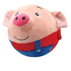 Stuffed pig jump ball toy for Toddler