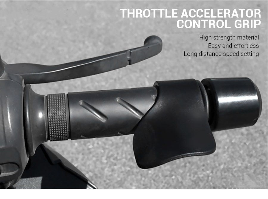 Motorcycle throttle handlebar assistant