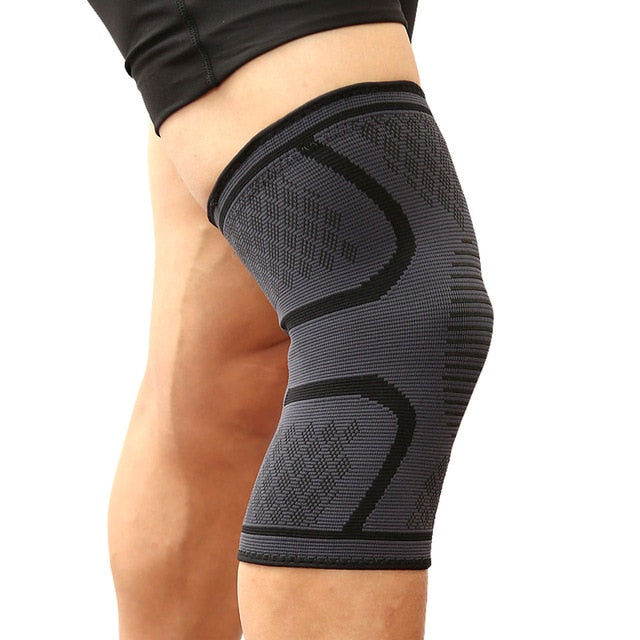Full compression knee support brace