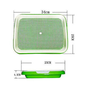 Double-layer seedling tray